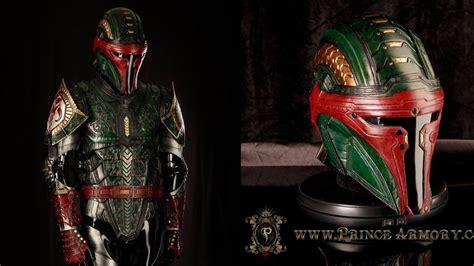 armor si e social stunningly badass boba fett armor geektyrant