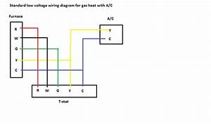 Furnace Air Conditioner Wiring