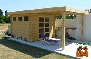 Chalet Bois Toit Plat : chalet toit plat un chalet de jardin ultra moderne ~ Melissatoandfro.com Idées de Décoration