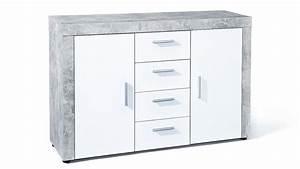 Möbel In Betonoptik : kommode betonoptik bestseller shop f r m bel und einrichtungen ~ Frokenaadalensverden.com Haus und Dekorationen
