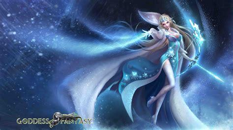 snow queen ice  snow league  angels splash art