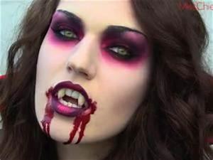 Maquillage D Halloween Pour Fille : maquillage pour halloween facile maquillage fille halloween cotillonsetdeguisements ~ Melissatoandfro.com Idées de Décoration