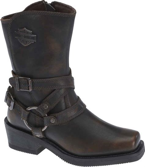 female motorbike boots harley davidson women 39 s ingleside 8 5 quot motorcycle boots