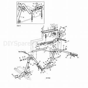 Hayter Condor  511r  Parts Diagram  Controls