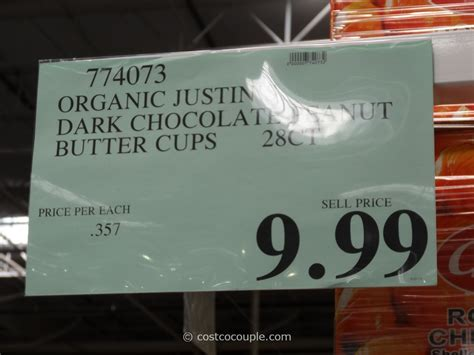 Save up to 25% off when you check out at sanfranciscobaycoffee.com. Justin's Organic Dark Chocolate Peanut Butter Cups
