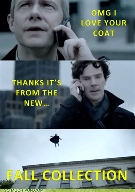 sherlock holmes memes puns funny fandom john coat clever bbc johnlock normal read chat nice had fooyoh long discover loading