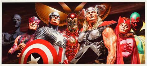 Avengers Assemble By Alex Ross Kleancolor 3d Nail Art Decoration Fine Holiday Cards Programs University Canada Joker Contemporary The Of Electronics 3rd Edition Free Auto India Kandivali Doo Bachelor Arts In Dance