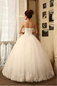 White Satin Strapless Off The Shoulder Sleeveless Princess ...