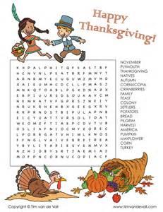 thanksgiving word search tim 39 s printables