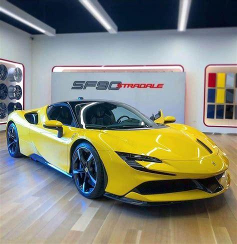 However, the laferrari's 217 mph top speed trumps the stradale's 211 mph maximum velocity. Ferrari SF90 Stradale in 2020 | Top cars, Sports cars, Ferrari