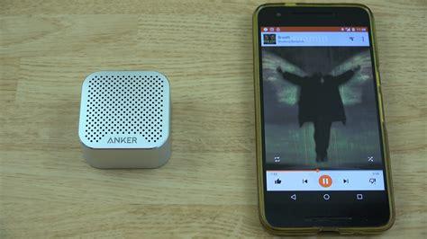 Anker Nano Speaker by Anker Soundcore Nano Micro Bluetooth Speaker Youtube