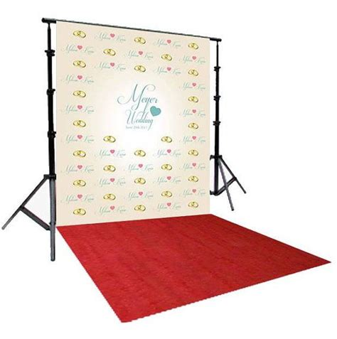 Diy Backdrops 10x10 by Carpet Step And Repeat Backdrop Available In 4 Sizes