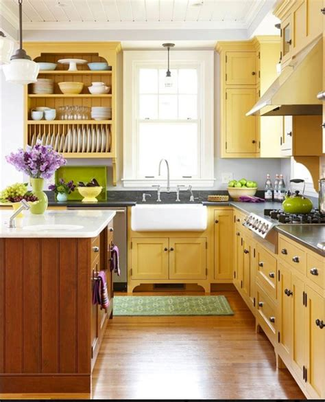 yellow and purple kitchen yellow kitchen with green accents ideas for the home pinterest green accents butter and