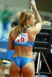 Female Athletes Whose Uniforms Have Bitten And Their Butt