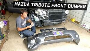 Mazda Tribute Front Bumper Removal Replacement 2001