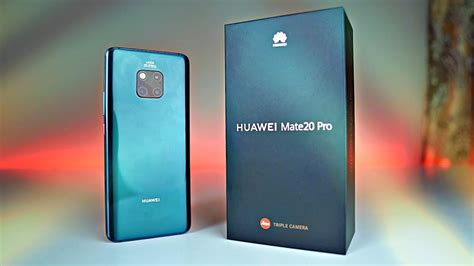 Huawei Mate 20 Pro Emerald Green  Unboxing & First Look