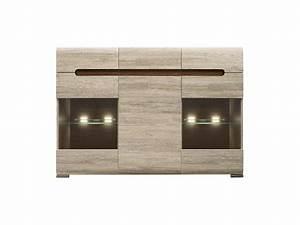Sideboard San Remo : sideboard azteca with 2 glassdoors oak san remo 384 95 ~ Indierocktalk.com Haus und Dekorationen