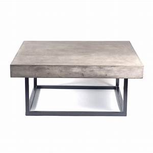 mia concrete coffee table 1 for sv back patio 41quot square With concrete slab coffee table