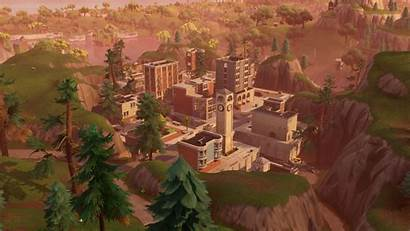 Fortnite Towers Tilted Wallpapers Wallpapersafari Abyss Channel