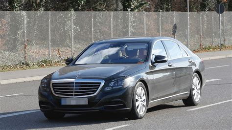 Mercedes Class by 2017 Mercedes S Class Facelift Spied For The Time