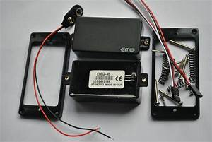 2017 Emg 81    85 9 V Battery Active Pickups Closed Type