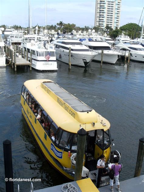 Boat Transport Ft Lauderdale by Water Taxi Fort Lauderdale Florida Fort Lauderdale