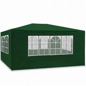 Tonnelle 4 X 3 : tonnelle de r ception pliante 3 x 4 5 m 250g m maison ~ Edinachiropracticcenter.com Idées de Décoration