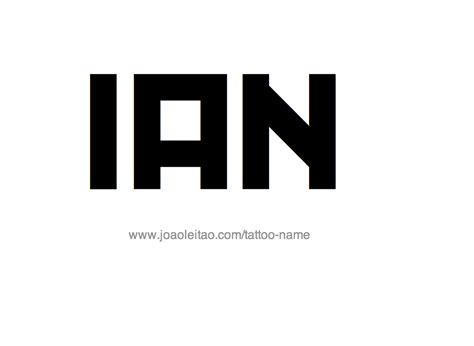 ian  tattoo designs