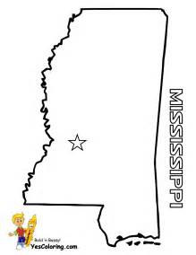Mississippi State Coloring Pages