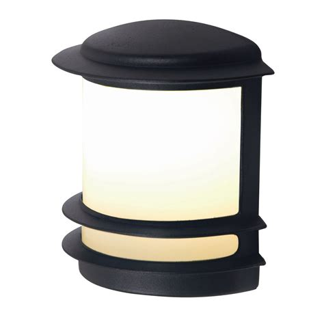 blooma tuscana black external wall light departments