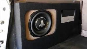 Ford Bronco Custom Enclosure For Amp And Sub At Al  U0026 Eds