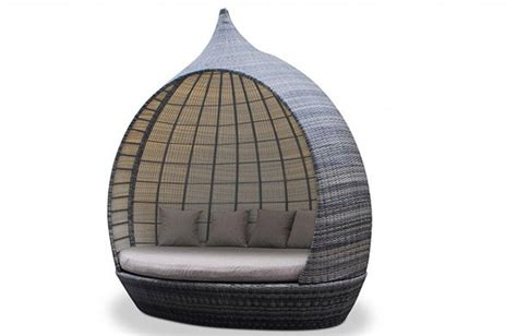 outdoor living comfy   rattan daybeds home