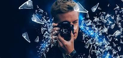 Photoshop Effect Glass Shatter Tutorials Using Tv