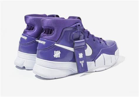 undefeated hong kong nike kobe  protro purple