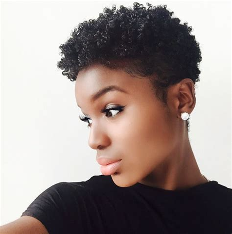instafeature tapered cut  natural hair atdennydaily