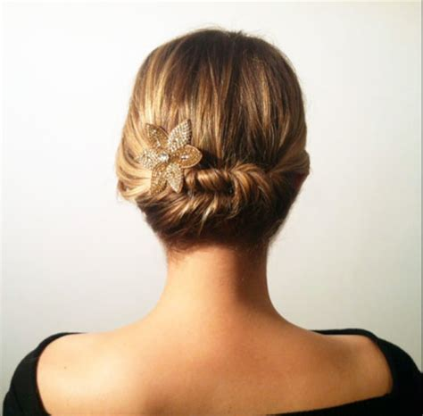 Simple Hairstyles For Hair For by Simple Twisted Hairstyle For Hair Hairstyles