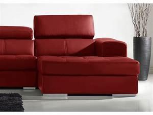 canape d39angle en cuir xxl cuir 5 coloris baldini ii With tapis rouge avec canape haute densite