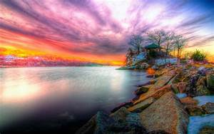 Beautiful Sunset Wallpaper 5 Beach : Wallpapers13.com