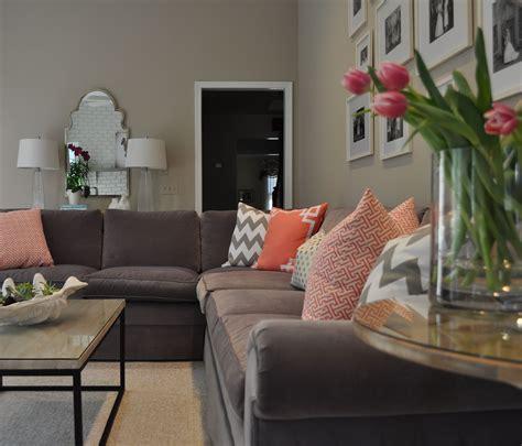 gray couch decor ideas  pinterest living