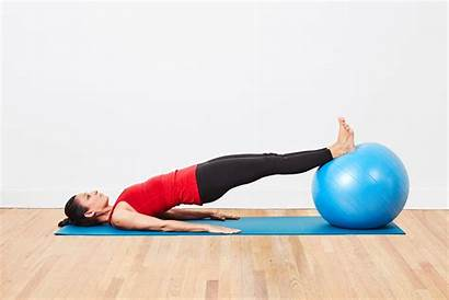 Exercises Hip Workout Strengthening Ball Lower Total