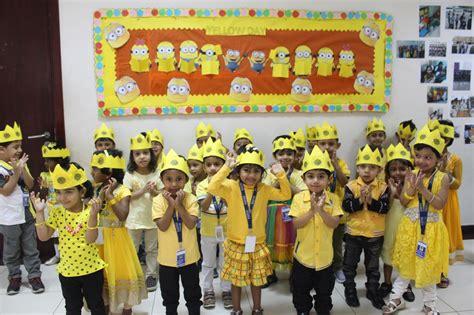 yellow day celebration in preschool yellow day celebrations 143