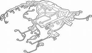 Jaguar Xe Engine Wiring Harness  3 0 Liter  W  O Awd  3 0l