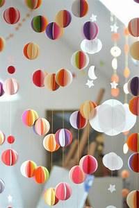 Blumen Basteln Fensterdeko : 1001 bastelideen aus papier blumen girlanden und t rkr nze ~ Markanthonyermac.com Haus und Dekorationen