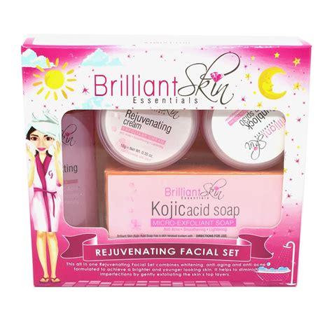 Brilliant Skin Essentials Kojic Rejuvenating Facial Set ...