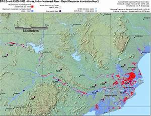 Orissa, India - Mahanadi River - Rapid Response Inundation ...