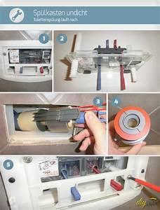 Wc Spülkasten Reparieren : sp lkasten undicht wenn die toilettensp lung nachl uft ~ Michelbontemps.com Haus und Dekorationen