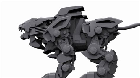 where can i find blueprints for my liger zero 3d model zoids