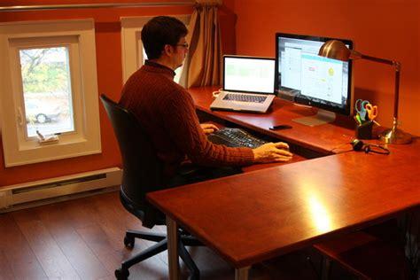 ergonomic computer desk contemporary home office new