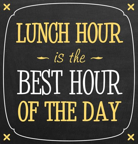 Whats For Lunch Quotes Quotesgram