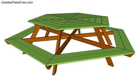 picnic table designs  garden plans   build